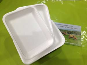 Poly Soaker Trays for sausages